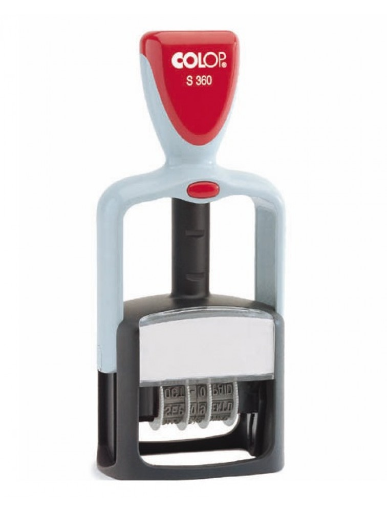 Colop Printer S360 Dater Self Inking Stamp